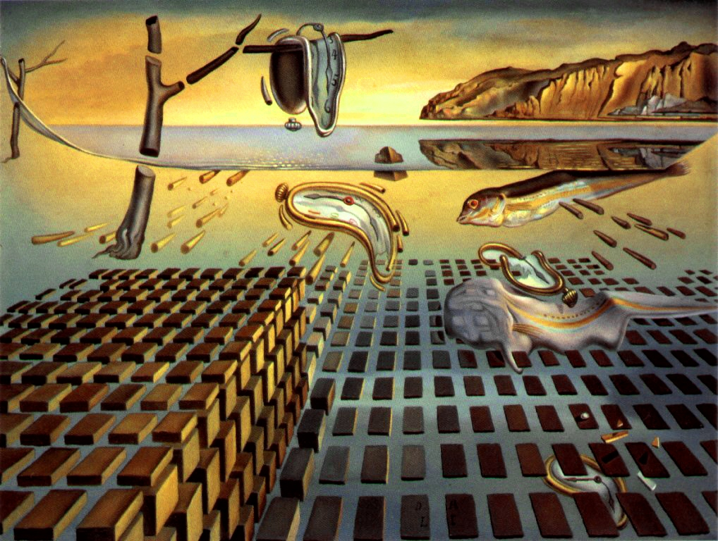 "my favorite artists and their art salvador dali count orlok s blog ""the disintegration"