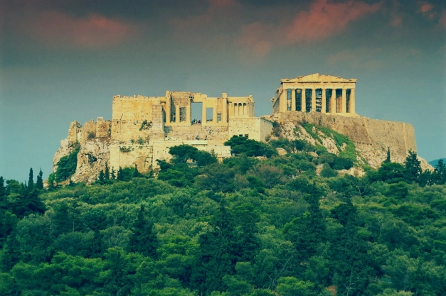 The image of the Acropolis stirs up all sorts of romantic imaginings of what life in Ancient Greece was like, and we often can't help but imagine mythical heroes battling monsters, though life in ancient Greece was not so different from the lives we live now.