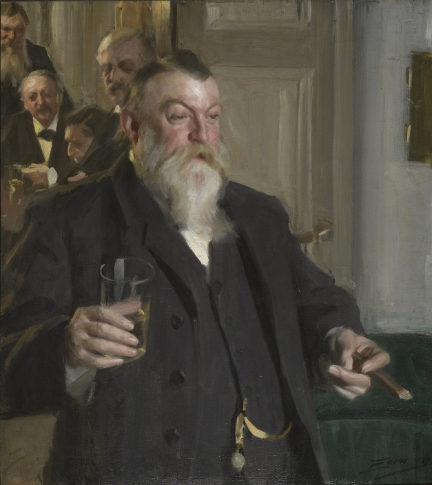 """A Toast at the Idunn Society"" (1892)"