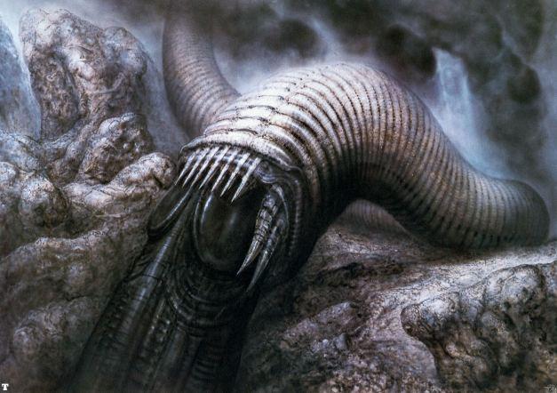 """Dune Worm XII"" (1979)"