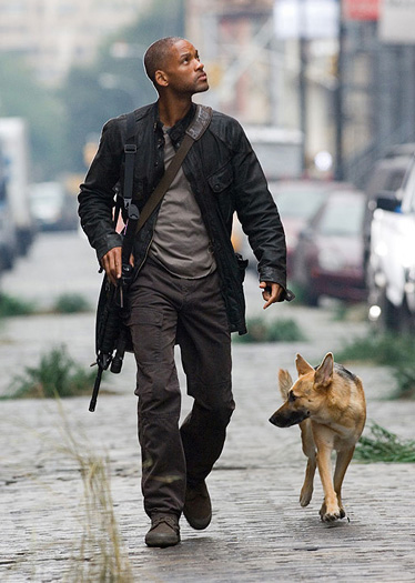 "Will Smith as Robert Neville in ""I Am Legend"" (2007) directed by Francis Lawrence"