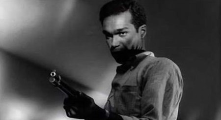 "Duane Jones as Ben in ""Night of the Living Dead"" (1968) directed by George A. Romero"