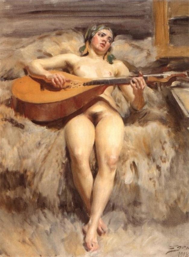 """Studio Idyll"" (1918)"
