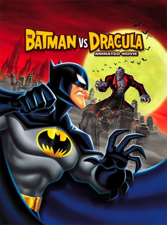 "Warner Bros. Animation's DVD of ""The Batman vs. Dracula"""