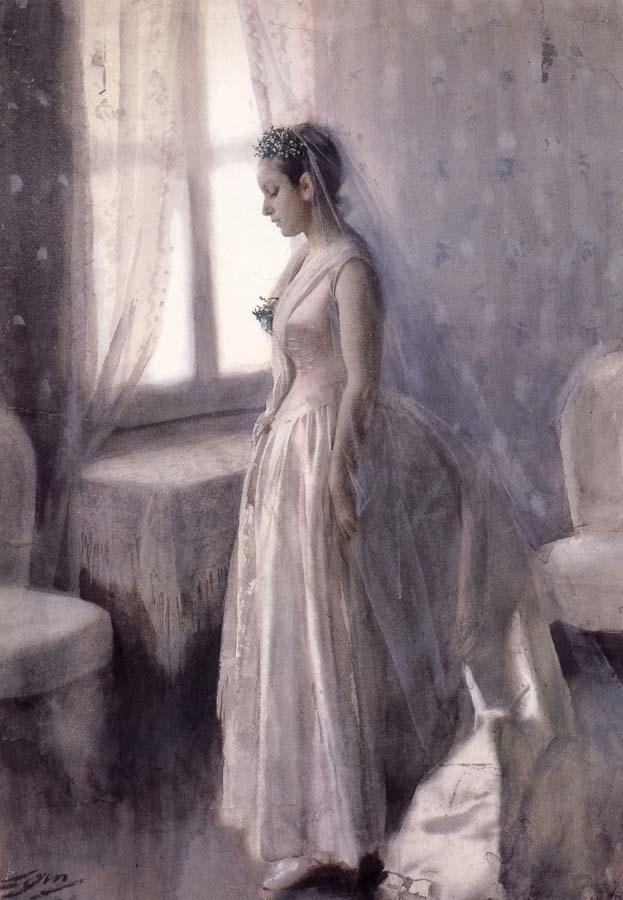 """""""The Bride"""" (1886)"""