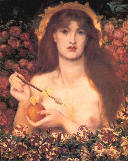 """Venus Verticordia"" by Dante Gabriel Rossetti (1864-1868)."