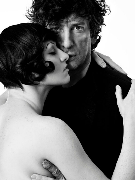 Amanda Palmer and Neil Gaiman (2010).