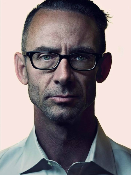 "Chuck Palahniuk (2014).  Allan's recent portrait of acclaimed writer Chuck Palahniuk, the author of the novels ""Fight Club"" and ""Choke""."