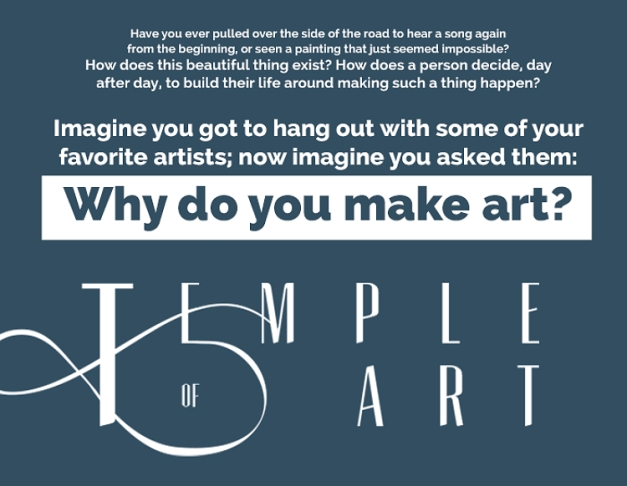 Why do you make art?