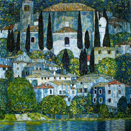 """Church in Cassone"" (1913)"