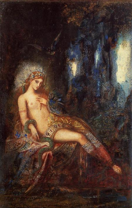 """Goddess on the Rocks"" (circa 1890)"