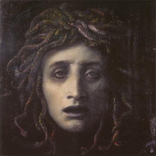 """Medusa"" (circa 1878)"