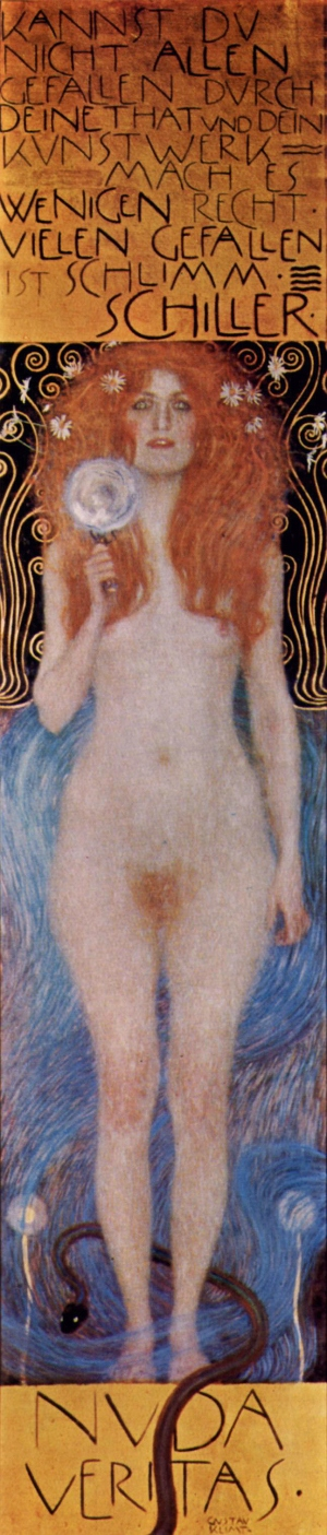"""""""Nuda Veritas"""" (1899)"""