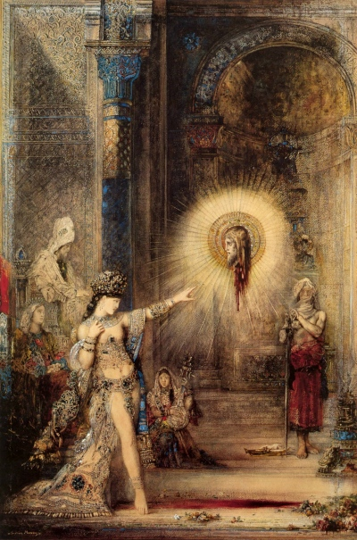 """Salome and the Apparition of the Baptist's Head"" (1876)"