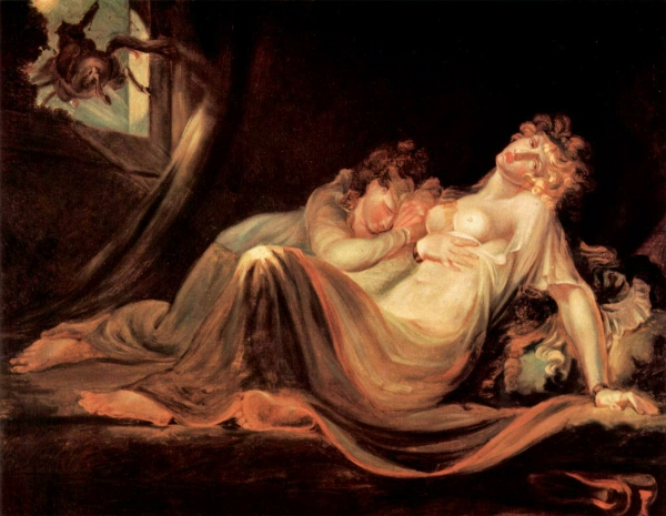 """An Incubus Leaving Two Sleeping Girls"" (1793)"