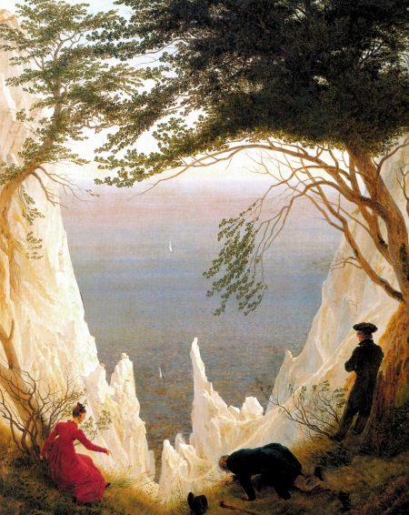 """Chalk Cliffs on Rügen"" (circa 1818)"