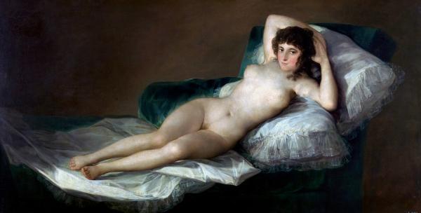 """""""La Maja Desnuda"""" (circa 1797-1800)"""