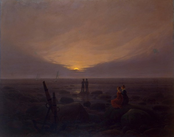 """Moonrise by the Sea"" (circa 1821)"