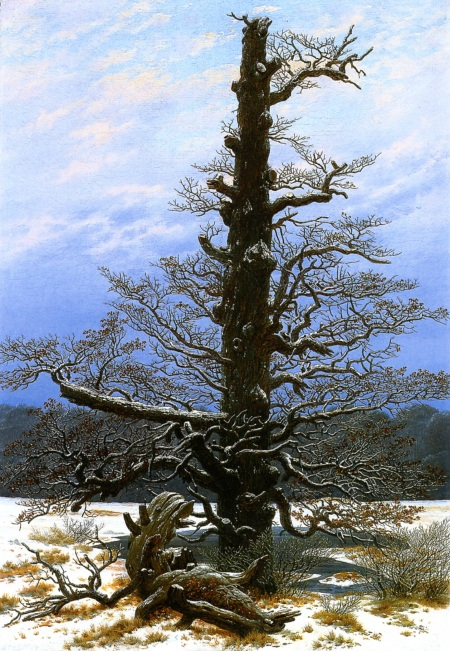 """Oak Tree in the Snow"" (1829)"