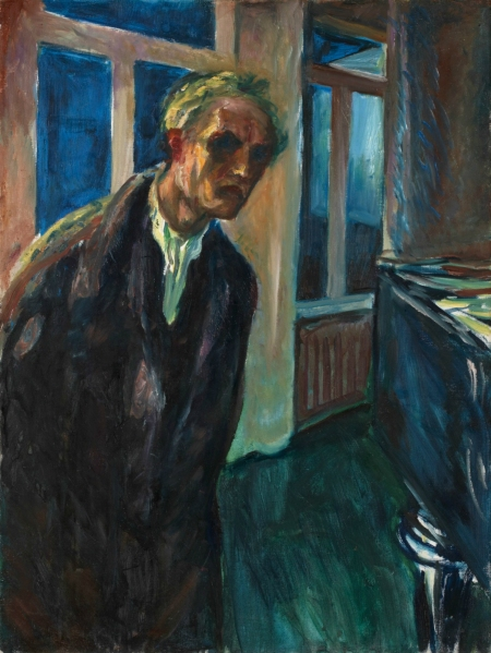 """Self-Portrait – The Night Wanderer"" (1923-1924)"