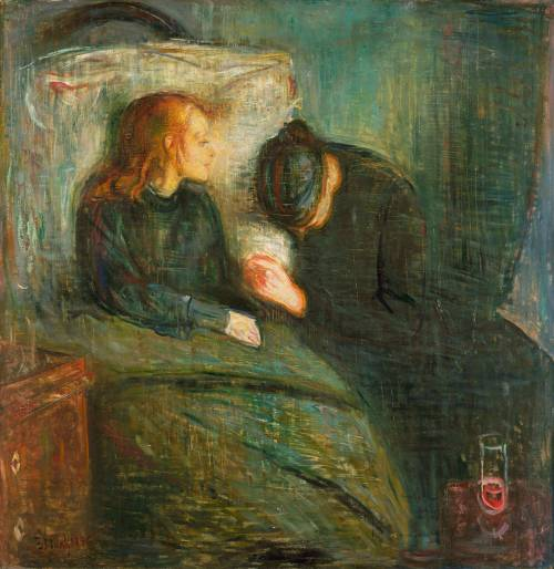 """The Sick Child) (1896)"