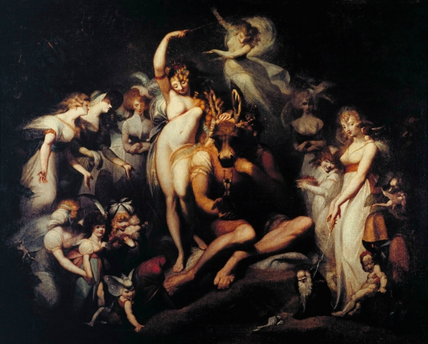 """Titania and Bottom"" (circa 1790)"