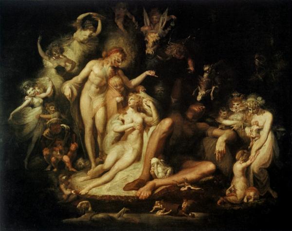 """""""Titania Awakening"""" (circa 1780-1790)"""