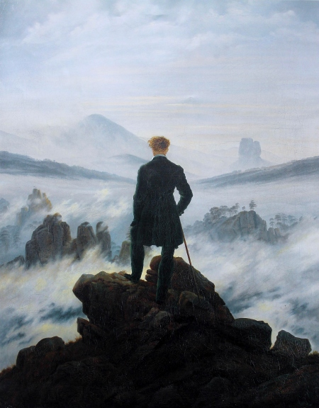 """Wanderer Above the Sea of Fog"" (circa 1818)"