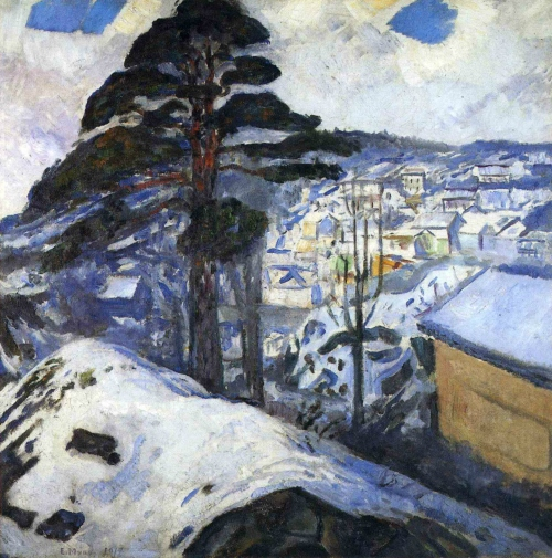"""Winter in Kragerø"" (1912)"
