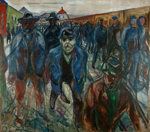 """Workers on Their Way Home"" (1913-1915)"