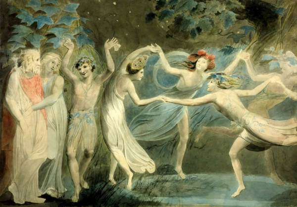 """Oberon, Titania, and Puck Dancing with Fairies"" (circa 1875)"