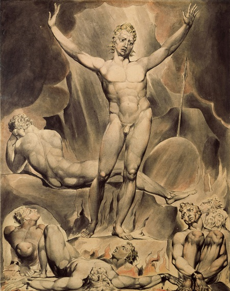"""Satan Arousing the Rebel Angels"" (1808)"