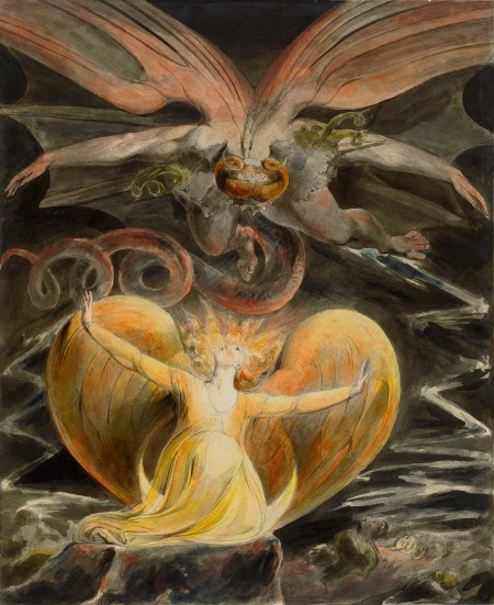 """The Great Red Dragon and the Woman Clothed with Sun"" (circa 1805-1810)"