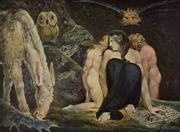 """The Night of Enitharmon's Joy"", also know as ""The Triple Hecate"" (circa 1795)"