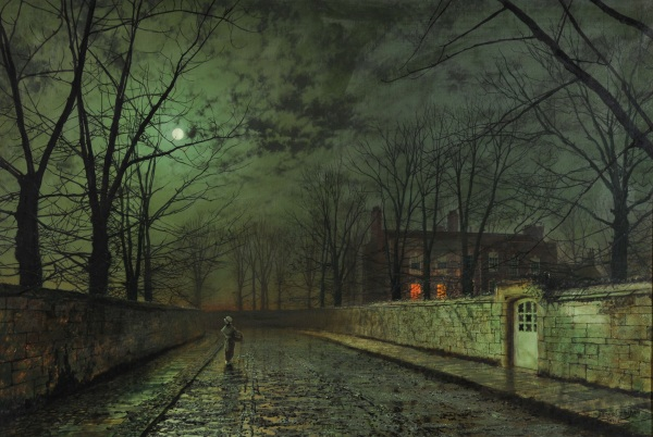 Silver Moonlight (Grimshaw, 1880)