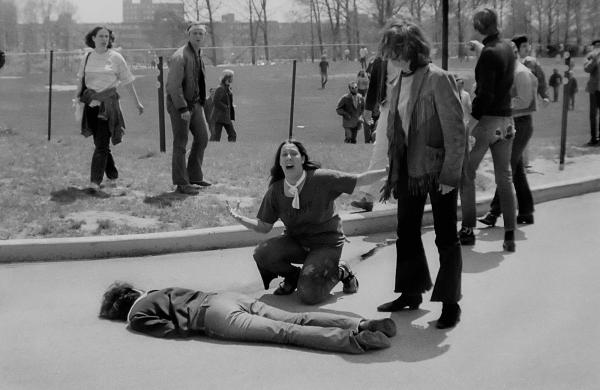 """""""Kent State"""" by John Filo (1970)"""