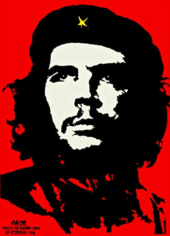 """Viva Che!"" by Jim Fitzpatrick (1968)."
