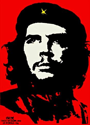 """""""Viva Che!"""" by Jim Fitzpatrick (1968)."""