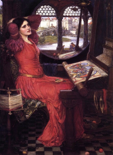 """'I Am Half Sick of Shadows,' Said the Lady of Shalott"" (1915)"