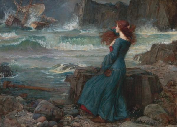 """Miranda - The Tempest"" (1916)"