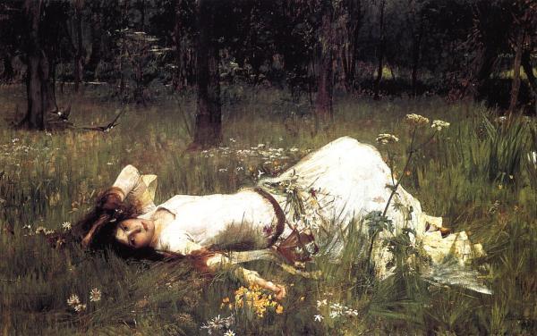 """""""Ophelia"""" (1889)"""