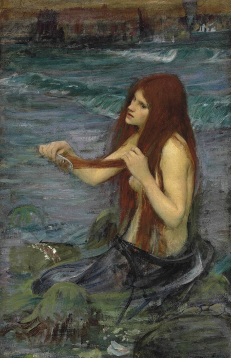 """A Study for 'A Mermaid'"" (1892)"