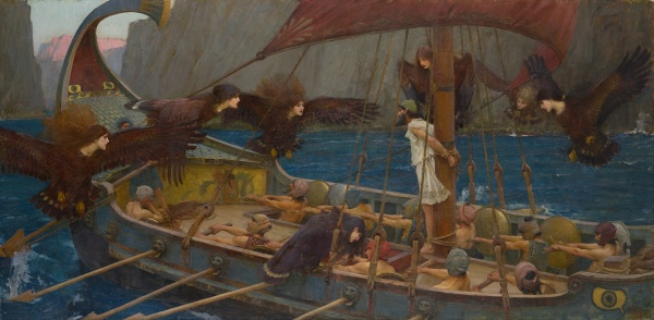 """Ulysses and the Sirens"" (1891)"