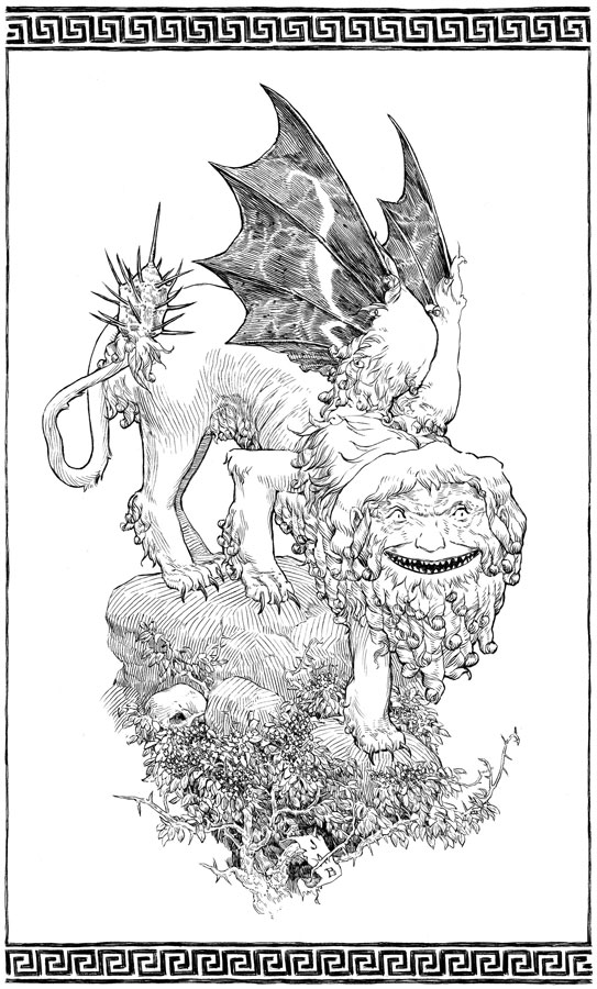 """The Manticore"" Jeremy A. Bastian"